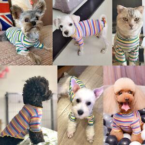 XXS XS Small Medium Dog Cat Jumper Soft Warm Pet Knit Sweater Clothes Chihuahua