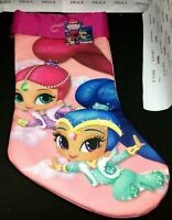 "Nickelodeon's ""Shimmer and Shine"" 16 inch Christmas Stocking - NWT"