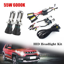 Ultrathin 55W H4 6000K HID Car Xenon Lamp Headlight Fog Headlight Conversion Kit