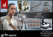 Star Wars Episode VII MMS 1/6 Rey Resistance Outfit Hot Toys 28 cm