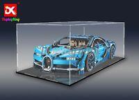 DK - Display case for  LEGO Bugatti Chiron 42083  - Extra large ( Sydney Stock)