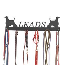 Afghan Hound Dog Metal Lead Hooks