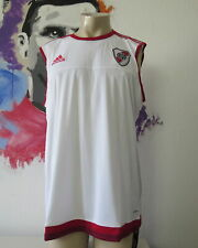 River Plate 2017 2018 sleeveless shirt adizero vest soccer jersey size XL BNWT