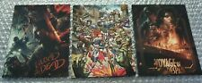 Call of Duty Black Ops 4 - 3 Zombies Artcards - Ps4 - Collectors Item