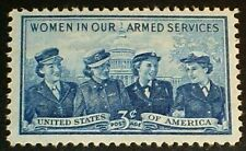 US Scott 1013- Women in the Armed Services- MNH OG F-VF 3c 1952