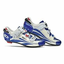 SiDi Ergo 3 Carbon Vernice White with Blue with Cream