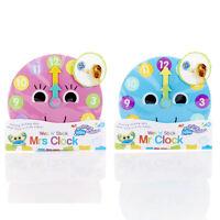 Kids Wet Stick Bathtime Buddies Fun Learning Mr Mrs Clock Ideal Educational Toy