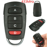 New 433MHz Electric Cloning Universal Gate Garage Door Remote Control Key Fob