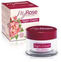 My Rose Of Bulgaria Anti-Wrinkle Night Cream Regenerating & Smoothing 35+ 50ml