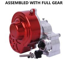 Axial SCX10 AX10 CNC Assembled Center Transmission Gearbox Set W/ MOTOR GEAR