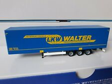 herpa LKW WALTER Int. Transportorganisation AG - MEGALINER Bahn-HUCKEPACK-0