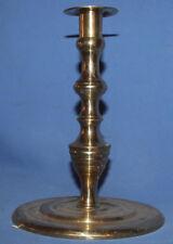 Vintage heavy brass candlestick