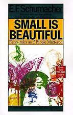 NEW Small Is Beautiful: Economics as if People Mattered by E. F. Schumacher