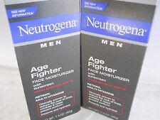 Neutrogena Men Age Fighter Face Moisturizer SPF 15 1.4 oz (2pks) exp 2019