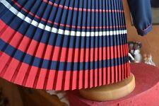 Robe neuve Tartine et Chocolat 6 ans Marine Bas Plissee 110 euros Magnifique