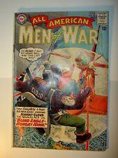All American Men of War #102 GD, 103 GD/VG, 105 PR, 111 GD/VG, 112 GD,117 GD/VG