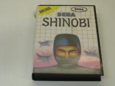 !!! SEGA MASTER SPIEL Shinobi GUT !!!