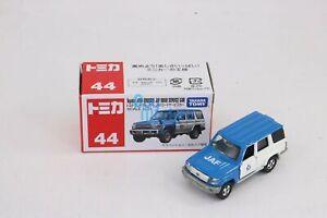 Takara Tomy Tomica No.044 Toyota LAND Cruiser Jaf Road Service Car Diecast Toy