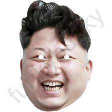 Kim Jong-un Version 3 - Politician Fun Card Mask - All Our Masks Are Pre-Cut!