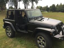 WRANGLER JEEP SAHARA SPORT 2008 (RARE 2 DOOR MANUAL)