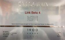 Crescina Transdermic Isole Follicolari LINK BETA 4 1900 DONNA 10+10 LABO !