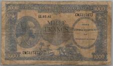 Congo 1000 francs 15-02-1962 poor
