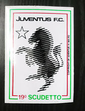 FC602M_JUVENTUS F.C. 19° SCUDETTO_ADESIVO_STICKER_CALCIO JUVE