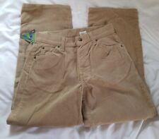 NWT Boys 565 Levis Cordoroy Size 14 REGULAR Wide Leg Beige