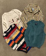 Four Cute baby Gap Tops 12-18 Months Euc!