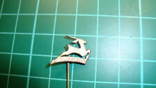 Gazelle fietsen pin badge blue 60's original lapel Dutch Anstecknadel speldje