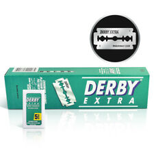 Derby Extra Double Edge Razor Blades 100 Count