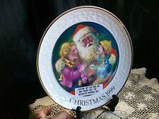 Santa'S Tender Moment~1999 Avon Collector Plate