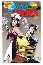 SPICY TALES #18 - 1990 Eternity Comics - pre-code pulp comic strip reprints
