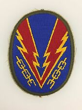 SUPERIOR QUALITY WWII U.S. Army EUROPEAN THEATRE OPERATIONS cloth sleeve patch