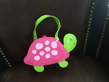 Gymboree Tennis Match pink turtle Purse girls 2 3 4 5 6 7 8 excellent on display