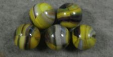 HARD TO FIND SET OLD MARBLE KING BLEND BUMBLE BEES MARBLES VERY NICE MK