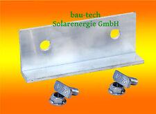 1 Stck Profil Verbinder ALU Solar Photovoltaik PV Montage / EINFACH 2 LOCH