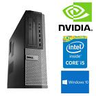 Dell Gaming PC Intel Core i5 8GB RAM 120GB SSD 1TB HDD NVIDIA GT 1030 Computer