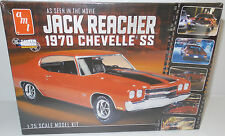 CARS : JACK REACHER'S 1970 CHEVELLE SS 1/25 SCALE MODEL KIT MADE BY AMT