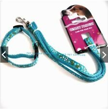 Pet Leash and Collar Set (Size 3) - Light Blue