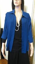 Ladies size 16 Moda Dark Blue blouse