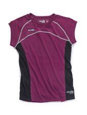Scruffs Women's Active Work Moisture Wicking T-shirt - Knee Belt Set Plum XL UK 16