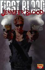 JENNIFER BLOOD: FIRST BLOOD #6 VF/NM DYNAMITE MIKE MAYHEW COVER