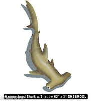 Mosaic Tile Shark Hammerhead Swimming Pool wall patio walk drive table bar top
