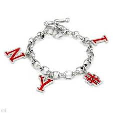 BENETTON  NY # 1 Bracelet Made in Red Enamel and 925 Sterling silver 35.4g