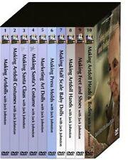 Jack Johnston Definitive DVD Collection (10 DVDs) Learn to Sculpt OOAK Artdolls!