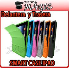 Funda SMART CASE COVER compatible IPAD 3- IPAD 2-NUEVO IPAD delantera y trasera