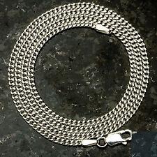 "Curb 060-16"" 2mm 4.6 Gram Italian Link .925 Sterling Silver Chain 16"""