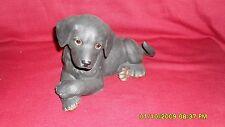 Lenox Labrador  Retriever  Black Puppy 7'' No Box