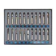 22 pcs 304 Stainless Steel Tattoo Tip Kit professional gun machine set nozzle